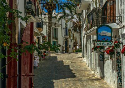 Dalt Vila Ibiza ciudad